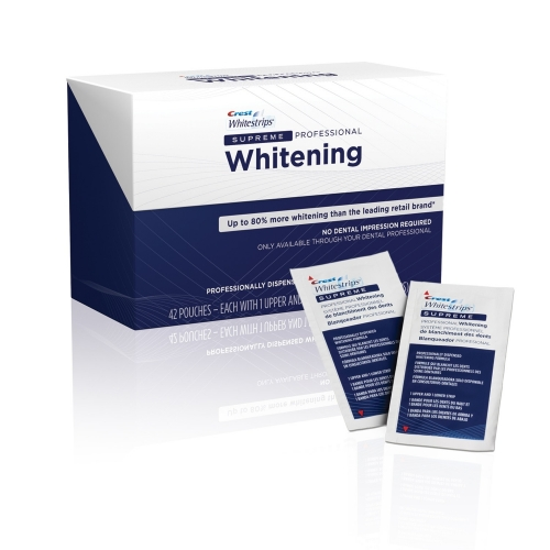 Crest Supreme whitening strips