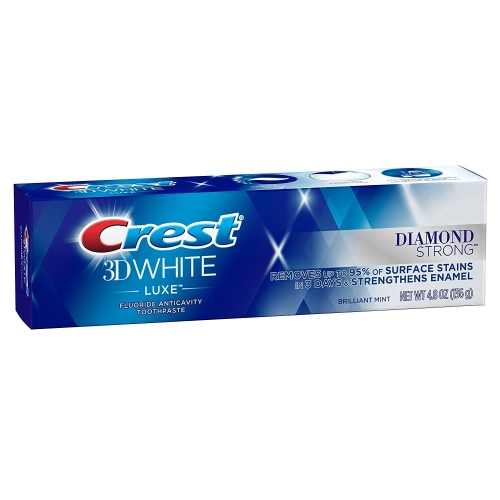 Crest Diamond Strong toothpaste