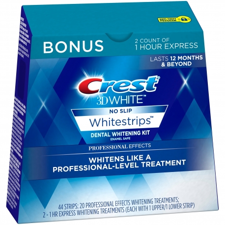 Crest Professional Effects whitening strips