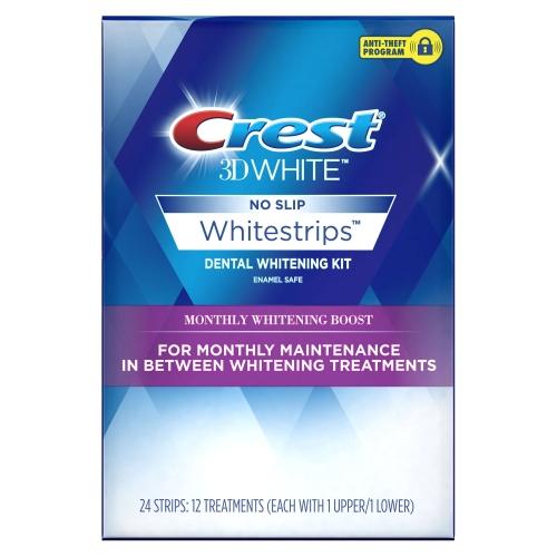 Crest Monthly Supply dantų balinimo juostelės