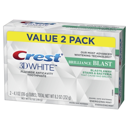 Crest Brilliance 116g. x2