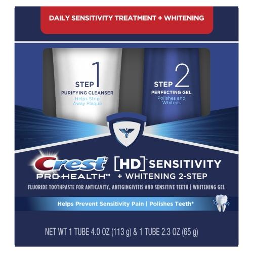 Crest HD système de blanchiment
