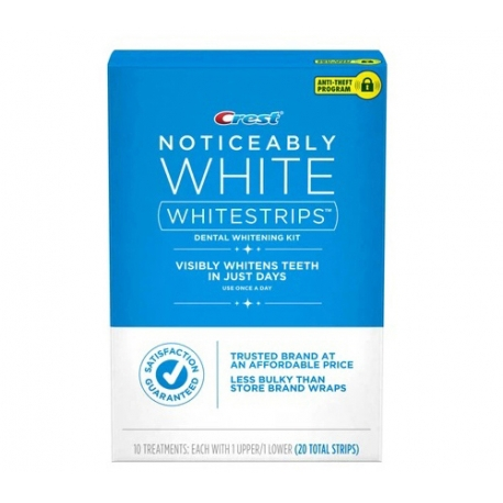 Crest Noticeably White whitening strips