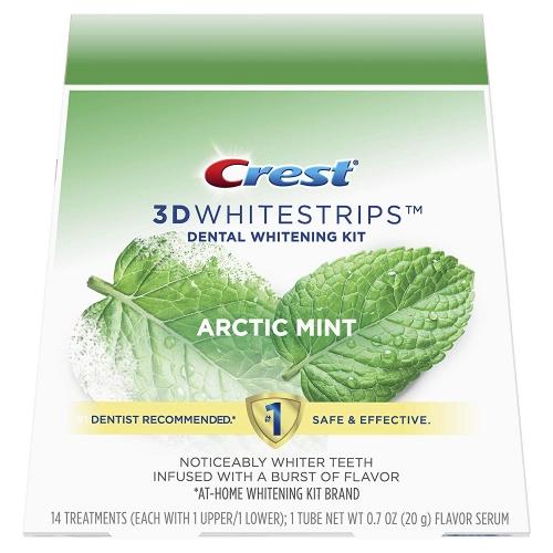 Bandes de blanchiment des dents Crest Arctic Mint