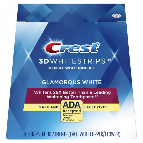 Crest Glamorous White 7pcs.