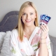 Crest Glamorous White dantų balinimo juostelės