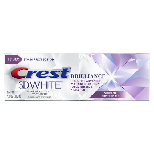 Crest Brilliance toothpaste