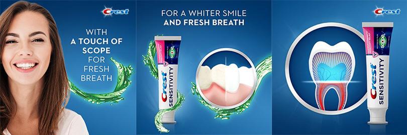 Crest Sensitivity toothpaste
