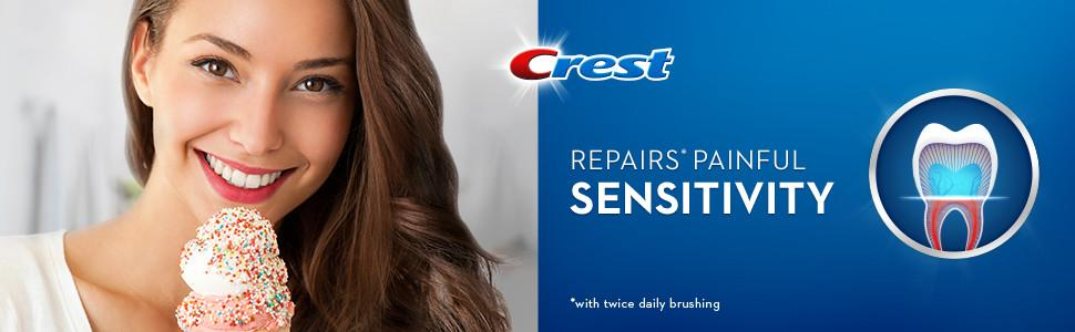 Crest Sensitivity toothpaste