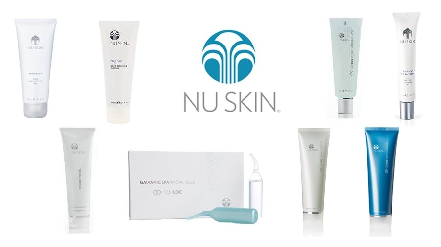 Nu Skin cosmetics and devices